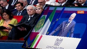 6 - Mattarella, Conte, Casellati e Fico ad Assemblea Confindustria