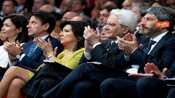 7 - Mattarella, Conte, Casellati e Fico ad Assemblea Confindustria
