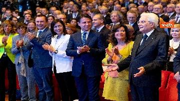 3 - Mattarella, Conte, Casellati e Fico ad Assemblea Confindustria