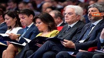 4 - Mattarella, Conte, Casellati e Fico ad Assemblea Confindustria