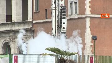 3 - Metro C, campi prova di congelamento terreno a piazza Venezia