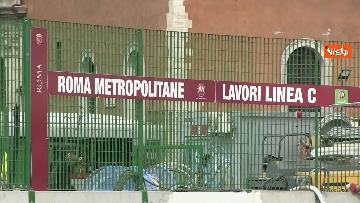 7 - Metro C, campi prova di congelamento terreno a piazza Venezia