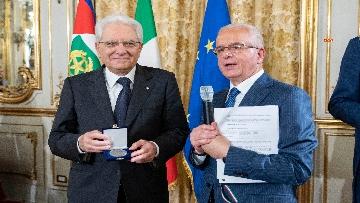 2 - Mattarella alla cerimonia celebrativa dei 50 anni di attività dell'AIL