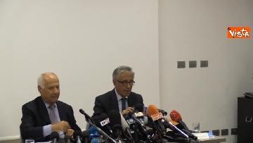 1 - La conferenza stampa di Autostrade per l'Italia a Genova