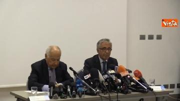 2 - La conferenza stampa di Autostrade per l'Italia a Genova