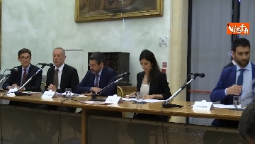 1 - Raggi e Fraccaro alla Presentazione del Global Forum on Direct Democracy