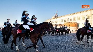 3 - Festa Tricolore, il cambio della Guardia solenne al Quirinale