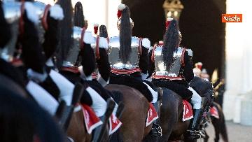 4 - Festa Tricolore, il cambio della Guardia solenne al Quirinale