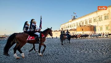 5 - Festa Tricolore, il cambio della Guardia solenne al Quirinale