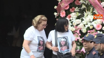 9 - Bara bianca e palloncini, il funerale di Pamela Mastropietro