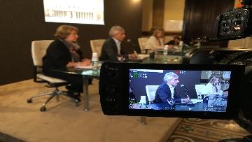 1 - Il presidente dell'Inps Boeri conferenza ''L'estratto contributivo dei dipendenti pubblici. Stato dell'arte e prospettive''