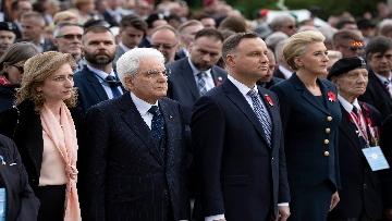 2 - Il Presidente Mattarella al 75° anniversario della battaglia di Montecassino.