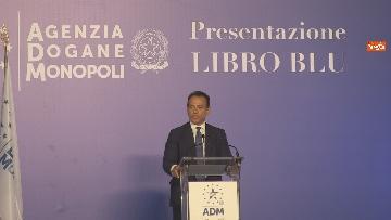 6 - Conte, Di Maio e Casellati alla presentazione del Libro Blu all'Agenzia Dogane. Le foto