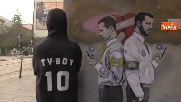 12 - I nuovo murales dello street artist Tvboy a Milano