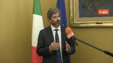 7 - L'intervista del presidente della Camera Roberto Fico all'Agenzia Vista