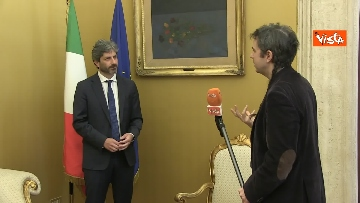 3 - L'intervista del presidente della Camera Roberto Fico all'Agenzia Vista