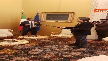 10 - L'intervista del presidente della Camera Roberto Fico all'Agenzia Vista