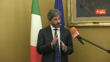 5 - L'intervista del presidente della Camera Roberto Fico all'Agenzia Vista