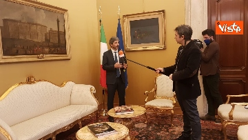 8 - L'intervista del presidente della Camera Roberto Fico all'Agenzia Vista