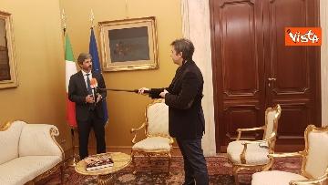 12 - L'intervista del presidente della Camera Roberto Fico all'Agenzia Vista