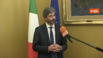 6 - L'intervista del presidente della Camera Roberto Fico all'Agenzia Vista