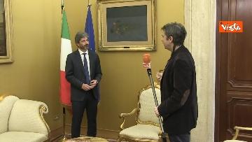 2 - L'intervista del presidente della Camera Roberto Fico all'Agenzia Vista