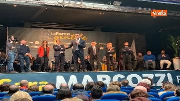 1 - Di Maio ad Avezzano con la candidata M5s alle regionali Sara Marcozzi