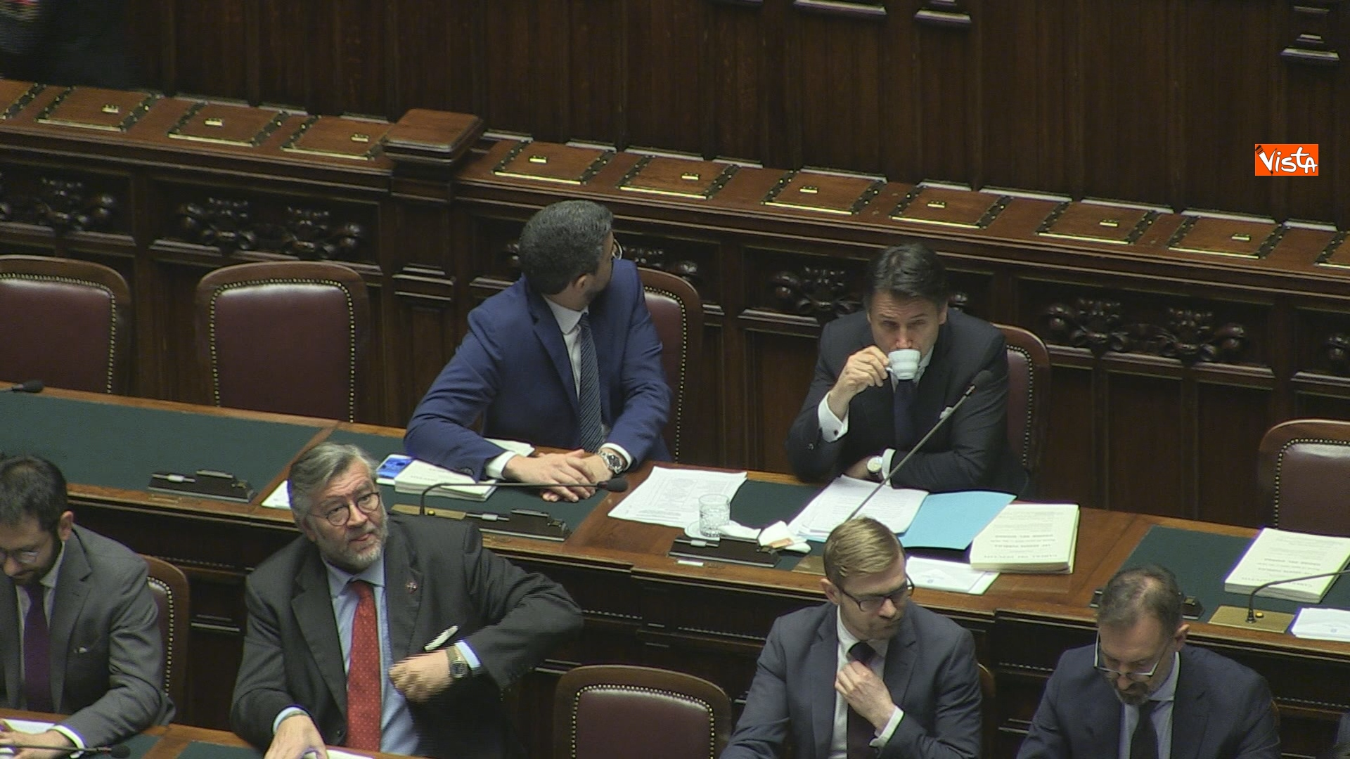 19-03-19 Conte riferisce in Aula Camera su Consiglio Ue e Via della seta immagini