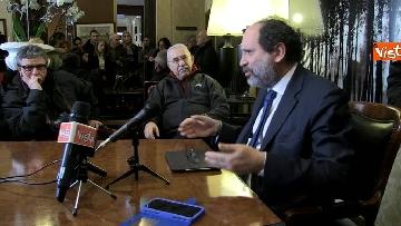 11 - Ingroia, conferenza stampa su indagine Procura Palermo immagini