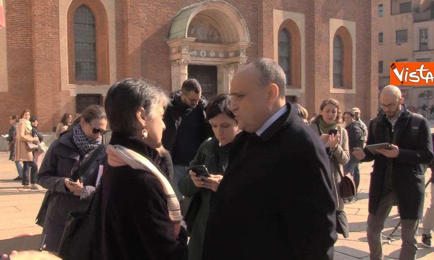 Settimana dei Musei, il ministro Bonisoli visita il Cenacolo Vinciano a Milano_02
