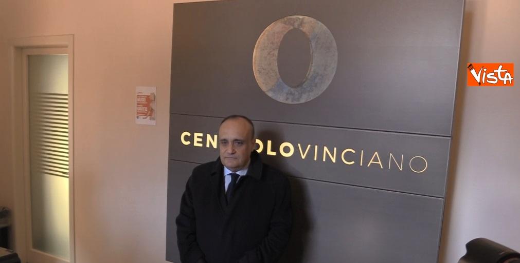 Settimana dei Musei, il ministro Bonisoli visita il Cenacolo Vinciano a Milano_03