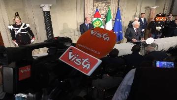 7 - FOTO GALLERY - Mattarella, il discorso al termine delle consultazioni
