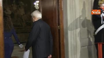 6 - FOTO GALLERY - Mattarella, il discorso al termine delle consultazioni