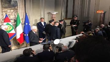 11 - FOTO GALLERY - Mattarella, il discorso al termine delle consultazioni