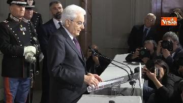 3 - FOTO GALLERY - Mattarella, il discorso al termine delle consultazioni