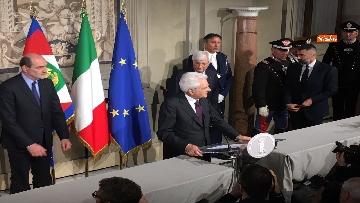 13 - FOTO GALLERY - Mattarella, il discorso al termine delle consultazioni