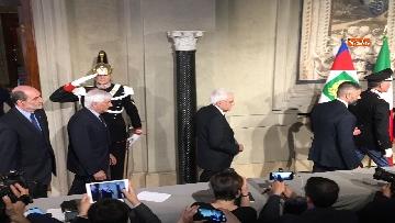 15 - FOTO GALLERY - Mattarella, il discorso al termine delle consultazioni