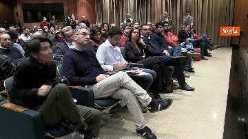 3 - Zingaretti a convegno con Boldrini 'La prossima Europa' immagini