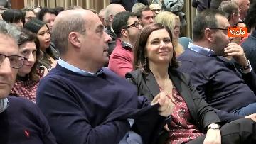 8 - Zingaretti a convegno con Boldrini 'La prossima Europa' immagini