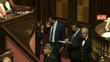 12 - 10-09-19 Governo Conte chide la fiducia al Senato, vari momenti in Aula