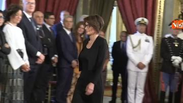 1 - Il giuramento del Ministro per le pari opportunita' Elena Bonetti
