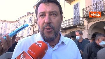 5 - Salvini a Voghera (Pavia) per il comizio elettorale, le immagini