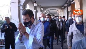 8 - Salvini a Voghera (Pavia) per il comizio elettorale, le immagini