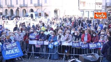 2 - Salvini a Voghera (Pavia) per il comizio elettorale, le immagini
