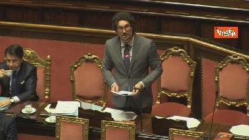 10 - Mozione sfiducia per Toninelli al Senato, le immagini dell'Aula