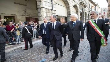 1 - 25 Aprile, Mattarella alla cerimonia per il 74° Anniversario della Liberazione a Vittorio Veneto