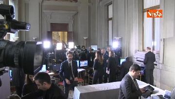 5 - Consultazioni, telecamere in posizione in attesa dei primi incontri con Mattarella