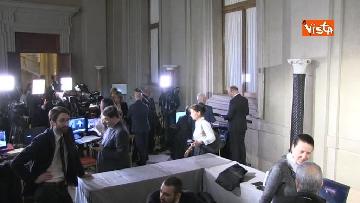 4 - Consultazioni, telecamere in posizione in attesa dei primi incontri con Mattarella