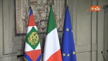 3 - Consultazioni, telecamere in posizione in attesa dei primi incontri con Mattarella