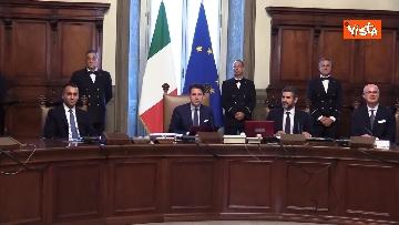 9 - Il primo Consiglio dei Ministri del Governo Conte Bis, le immagini
